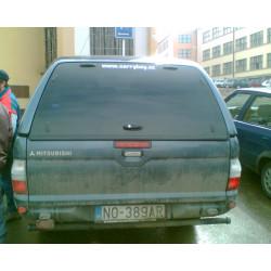 Samonosné sklo zadních dveří na hardtop Carryboy S560 mitsubishi L200 - Strada CMLD