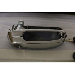 Klika se zámkem a klíči pro hardtop Cover King Top - Chrom - povrch