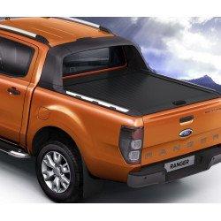 Mountain Top černá hliníková roleta pro Ford Ranger Wildtrak EC