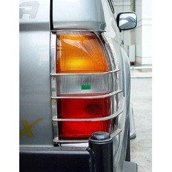Nerezové kryty zadních světel Mitsubishi L200.MK.4 L200 old