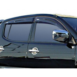 Okenní deflektory Nissan Navara (D40)